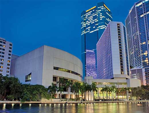 Hyatt Regency Miami & James L. Knight Center