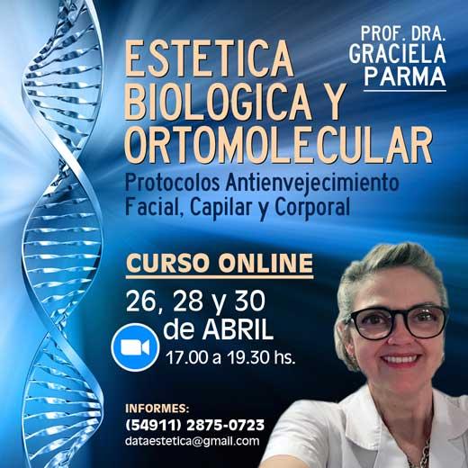 CURSO ESTETICA BIOLOGICA ORTOMOLECULAR
