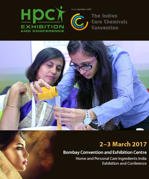 HPCI Home and Personal Care Ingredients Exhibition and Conference India 2017