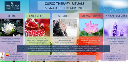 Therapy Rituals Signature Treatments