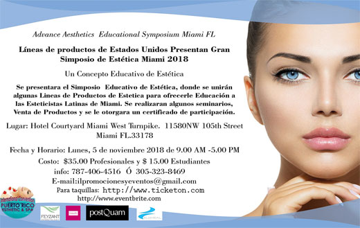 Advance Aesthetics Educational Symposium Miami FL