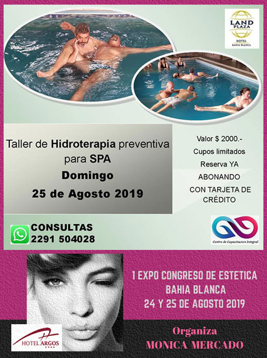 Taller > Hidroterapia preventiva para SPA