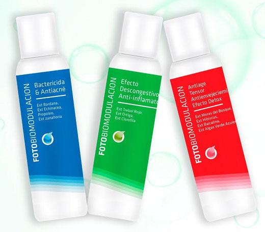 Nuevos productos para fotobiomodulación