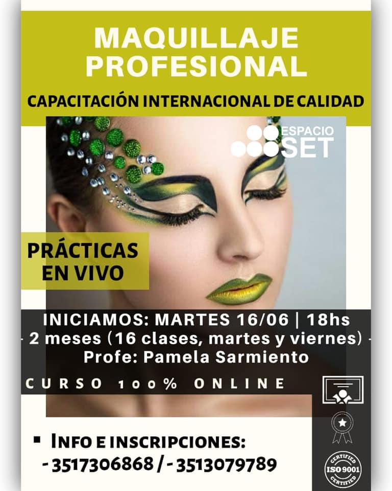 Curso online > Maquillaje profesional