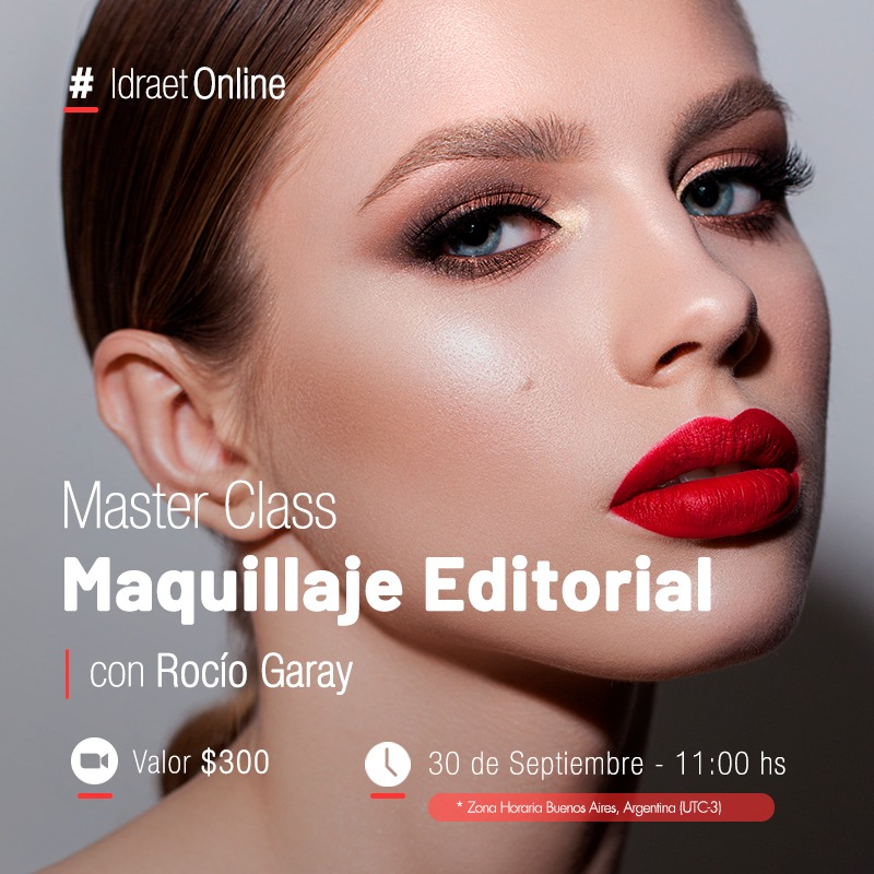 Online > Master class: Maquillajes editorial