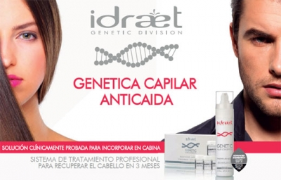Genetic Hair - Marker H10: tratamiento reactivador anticaída capilar